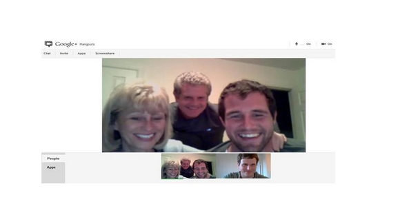 First Benham Family Google+ Hangout