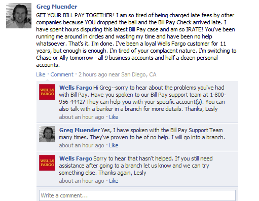wells fargo response to comments